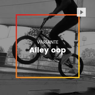 Variante Alley-oop bmx