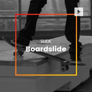 Boardslide skate
