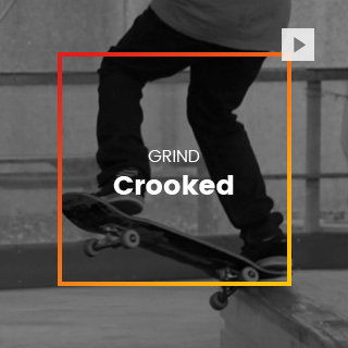 Crooked skate