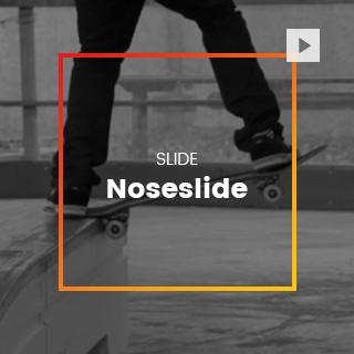 Nose-slide skate